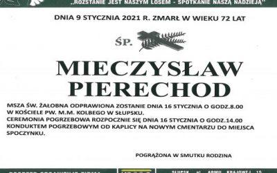 R.I.P. Mieczysław Pierechod